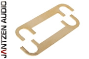 012-0230 Jantzen Binding post jumper, gold plated M6 / M8