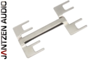 012-0250 Double Binding Post Jumper, M9, nickel plated