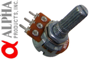 Alpha 16mm Long Split Shaft Potentiometers