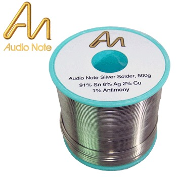 Audio Note 6% silver solder, 5m length