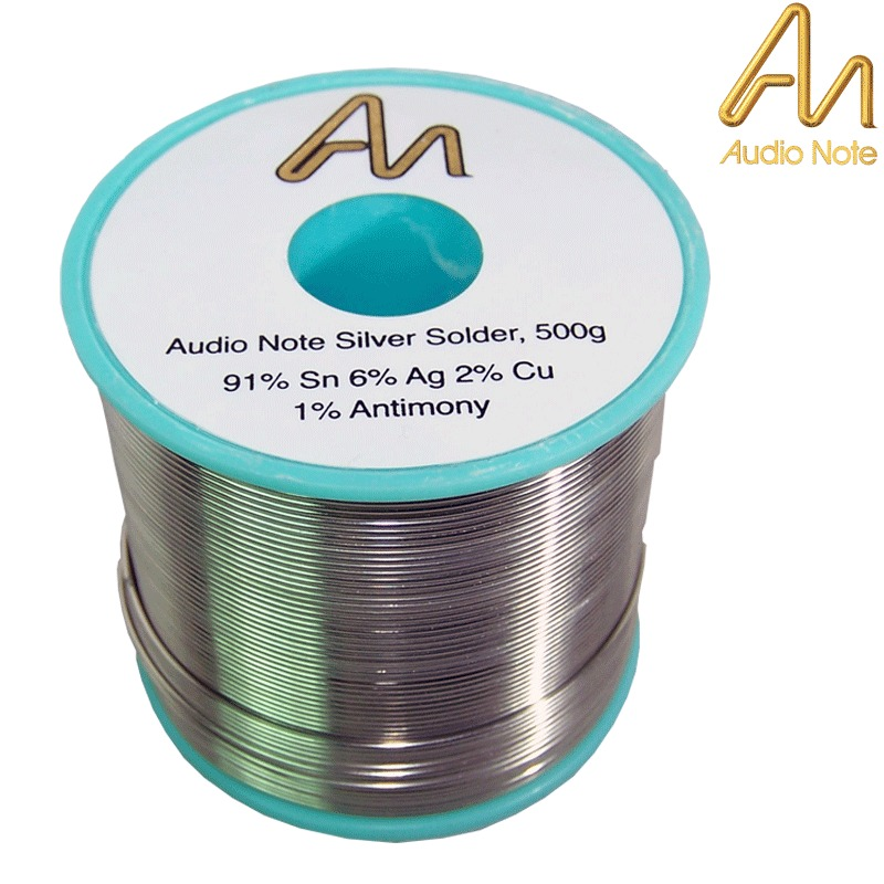 Audio Note 6 Silver Solder Hifi Collective