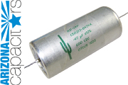 Arizona Capacitors Green Cactus - Mylar/Paper/Oil/Aluminum Foil Capacitor, C50313