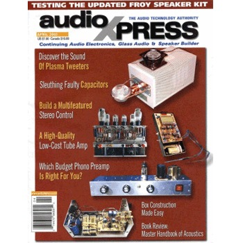 AudioXpress (Vol.34 Issue.04) April 2003 Issue