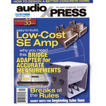 AudioXpress (vol.35 Issue.04) April 2004 Issue