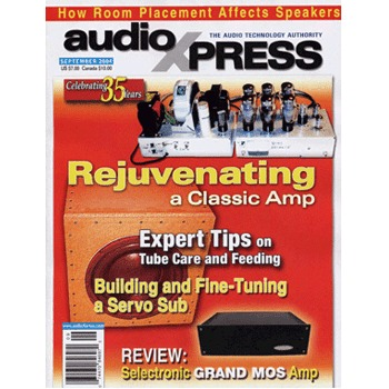 AudioXpress (vol.35 Issue.09) September 2004 Issue