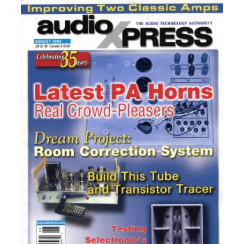 AudioXpress (vol.35 Issue.08) August 2004 Issue