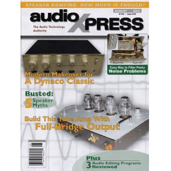 AudioXpress (Vol.36 Issue.08) August 2005 Issue