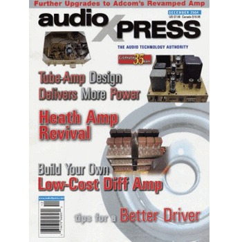 AudioXpress (vol.35 Issue.12) December 2004 Issue