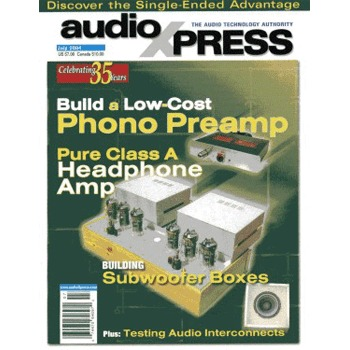 AudioXpress (vol.35 Issue.07) July 2004 Issue