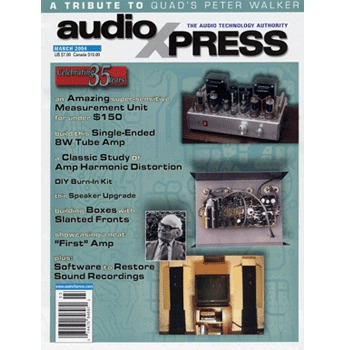 AudioXpress (vol.35 Issue.03) March 2004 Issue