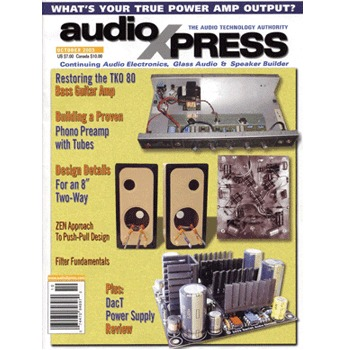 AudioXpress (vol.34 Issue.10) October 2003 Issue