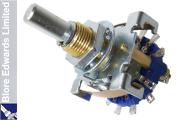 Blore Edwards 2 pole 6 way selector switch, OPXR-1054-01