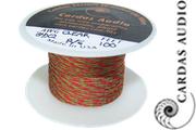 34 AWG Cardas Clear Tonearm Wire - x2 conductor braid