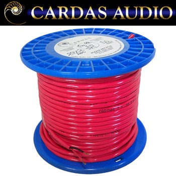 Cardas 2 x 20 AWG (0.81mm diameter) copper multistrand (1 metre)