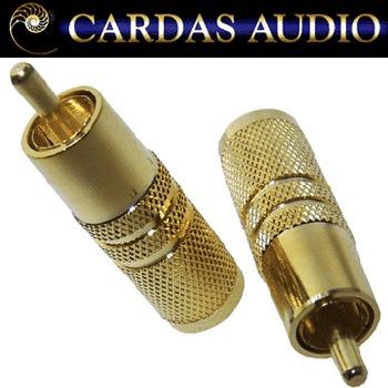 Cardas AGMO male RCA plug, gold plated (1 off)