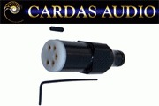 Cardas SDIN - 5 Pin DIN Phono Plug Straight