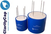 Claritycap TC 4 terminal range of PSU Polypropylene Capacitors