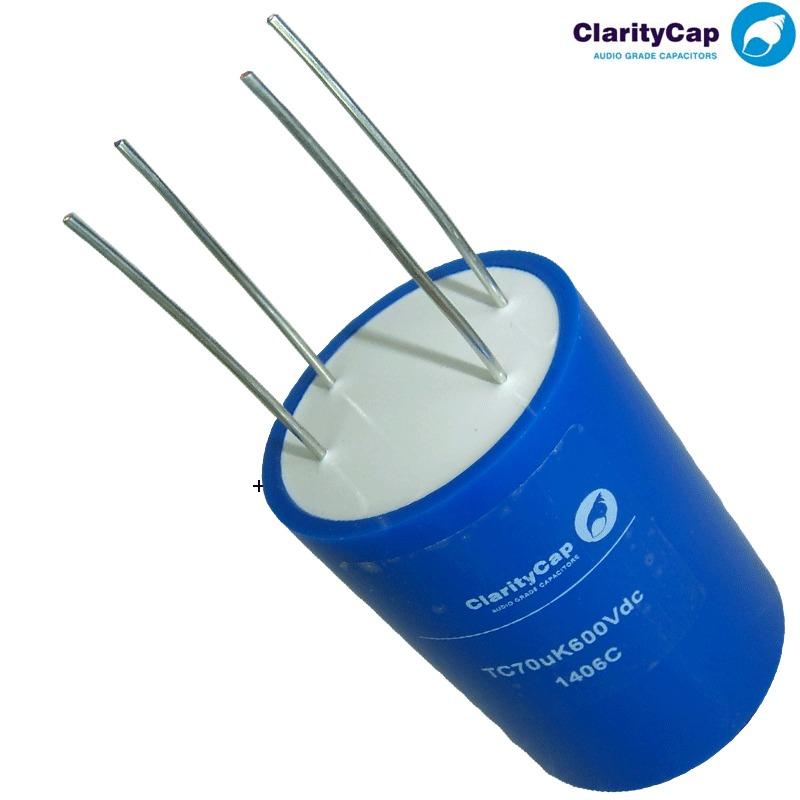 Claritycap TC, 4 Terminal PSU Capacitors | Hifi Collective