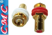 CMC-816-U-G RCA sockets, gold plated