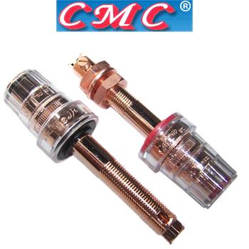 CMC-858-L-CUR Red Copper, long speaker terminals