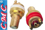 CMC-805-2.5-F-G gold plated RCA sockets
