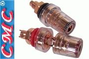 CMC-858-M-PCUR Red Copper Plated medium posts