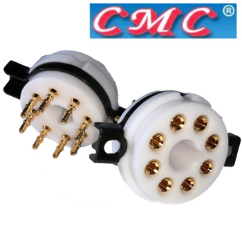 CMC Teflon Octal Chassis mount base (1 off)