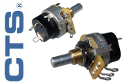 CTS Potentiometers - switch type