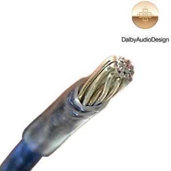 Dalby Audio Design DAL-320S Silver / Copper Multistrand Cable