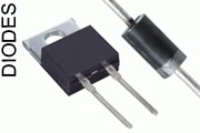 diodes, ultra-fast diodes, Schottky diodes
