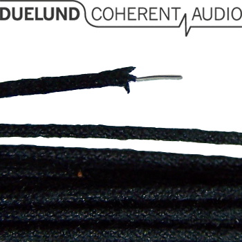 Duelund DCA AC0.4, 0.4mm, silver wire, solid core, cotton & oil insulated, AWG 26 (1m)