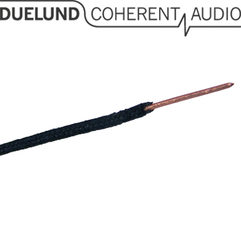 Duelund AWG 20, solid copper wire, cotton & oil insulated (1m)