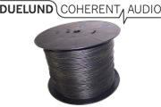 Duelund DCA20GA 600Vdc tinned copper multistrand wire in Polycast sleeving