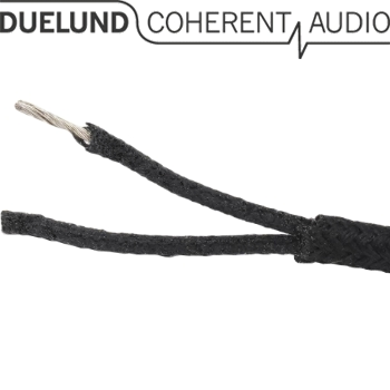 Duelund DUAL DCA20GA tinned copper multistrand wire in cotton and oil (1m)