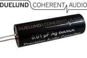 Duelund Silver Foil Precision Bypass Capacitors