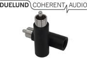 Duelund RCA Paper Plug, Rhodium Plated