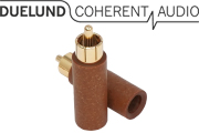 Duelund RCA Paper Plug, Gold Plated