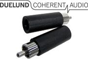 Duelund RCA Plug, Rhodium Plated