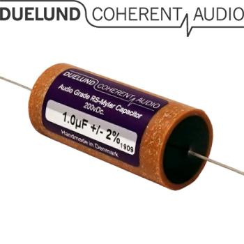 RSM-020: 1uF 200Vdc Duelund RS Mylar Capacitors
