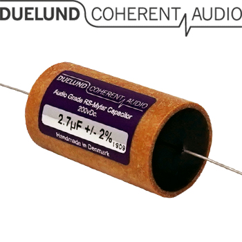RSM-040: 2.7uF 200Vdc Duelund RS Mylar Capacitors