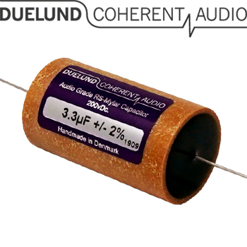 RSM-050: 3.3uF 200Vdc Duelund RS Mylar Capacitors