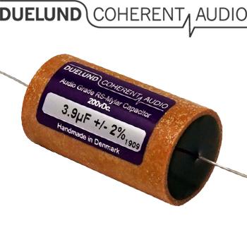 RSM-060: 3.9uF 200Vdc Duelund RS Mylar Capacitors