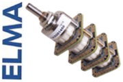 Elma 4 pole 47 way switch, A47-SERB4-THT