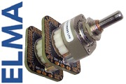 Elma 2 pole 47 way switch, A47-SERB2-THT