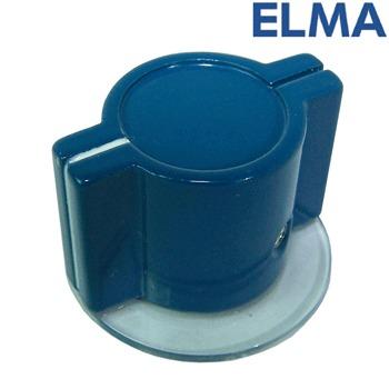 Elma - Marconi Classic British wing knob with skirt - BLUE