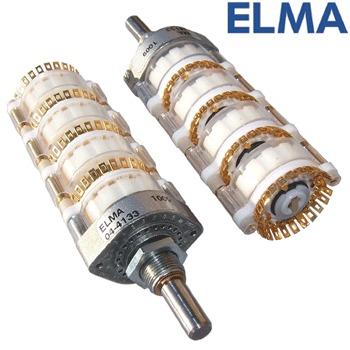 Elma 4 pole 24 way switch, 04-4133
