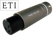 Nexus XLR Female Plug