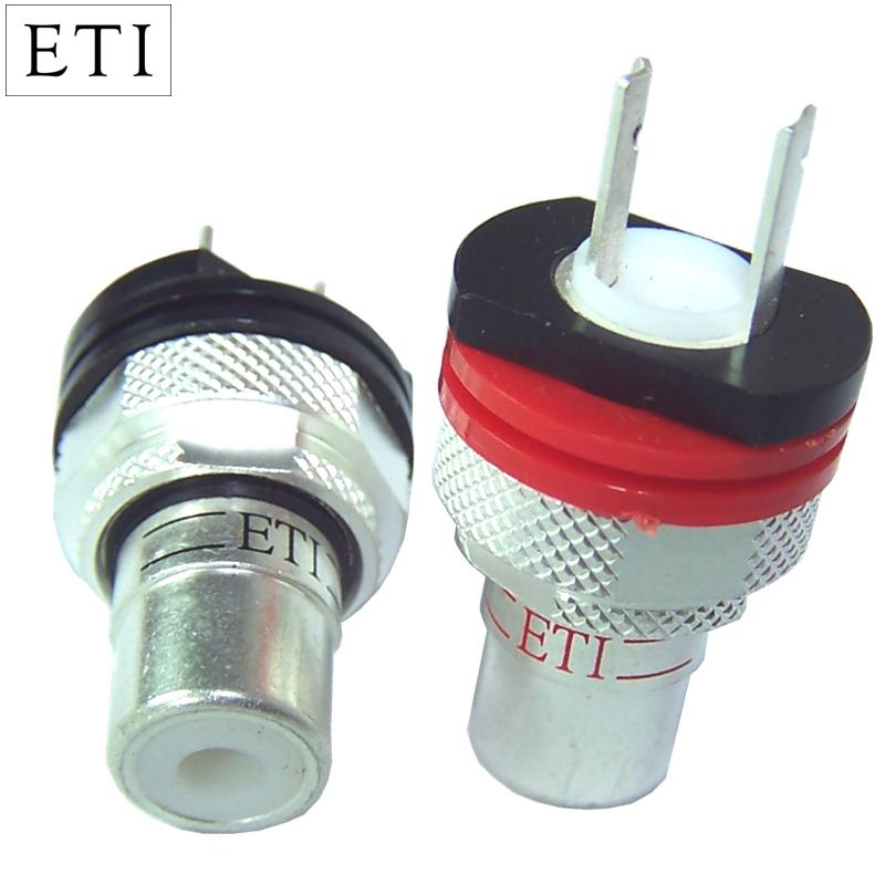 ETI Research FS-08 Silver RCA Socket | Hifi Collective
