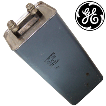 GE 50uF 850V paper in oil capacitor