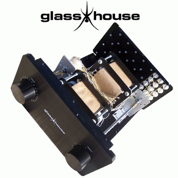 Glasshouse TVC C-core Pre-amplifier No.1 kit (CHASSIS ONLY)